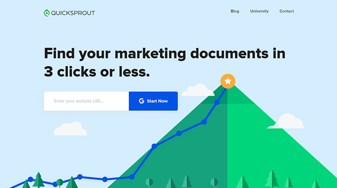 QuickSprout Website Analyzer