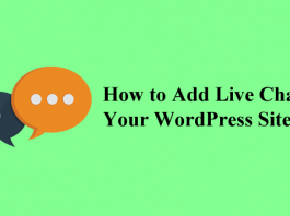 how to add live chat to your wordpress site