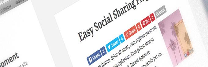 Easy Social Share Button